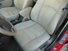 here s a closeup of the front seat job for comparison it s pretty darn good