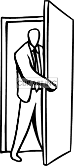 door clipart black and white. Enter Door Clipart #1 Black And White