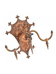 historically important all original late 19th century copper plated cast bronze spanish revival style columbus