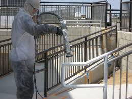 railings lockers and equipment can be brought back to that fresh factory finish in no