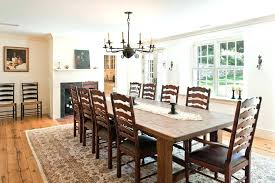 round dining room rug pretty expandable table look farmhouse decorators with antique under size for 60