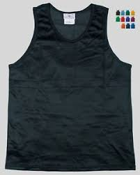 Asics Men S Solid Modified Singlet Size Chart Details About Nylon Mini Mesh Tank Top Singlet By Teamwork Mens Large 14 Colors