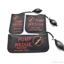 Universal Keychain Garage Door Opener Fresh Klom Pump Wedge Airbag ...