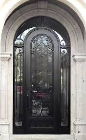 Front Doors front doors with sidelights pics : Wrought Iron Entry Doors With Side Lights Scottsdale, AZ