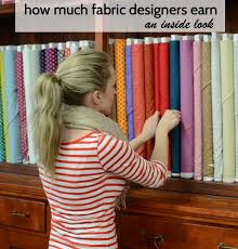 An Inside Look at How Much Fabric Designers Earn - whileshenaps.com & Fabric Designers Earn Adamdwight.com