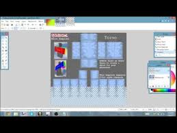 How To Make A Roblox Shirt On Paint Net How To Make Transparent Shirts On Roblox Using Paint Net