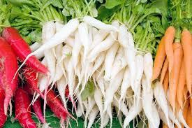 Kết quả hình ảnh cho white satin carrot
