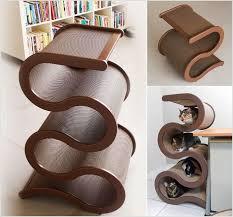 cool cat tree furniture. A Curvy Ribbon Cat Tree Cool Furniture N