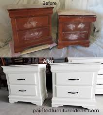 painting wood furniture white8 Drawer Dresser Makeover  White painted furniture White paints