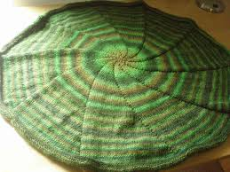 Free Afghan Knitting Patterns Circular Needles Awesome Circular Blanket Knitted In The Round 48 Steps With Pictures