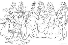 The articles include black and white diagrams of beautiful princesses in their long gowns and shiny tiaras. 12 Most Dandy Free Printable Disney Princess Coloring Pages For Kids Princesses Tures Color Sheets Elsa And Anna Inventiveness Oguchionyewu