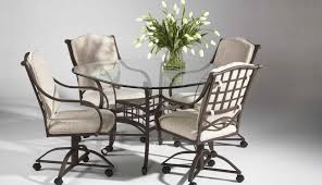 glass adorable for inches seater round counter height metal small top table set and dining sets