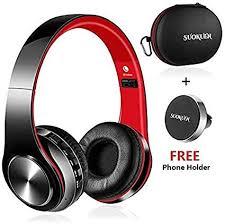 Bluetooth Headphones Over Ear, Hi-Fi Stereo <b>Wireless Headset</b>