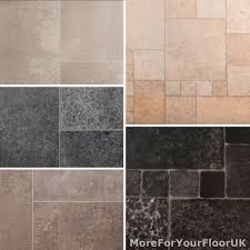 details about tile effect vinyl flooring roll quality lino anti slip kitchen bathroom 2m 3m 4m