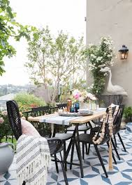 outdoor dining furniture roundup emily henderson aluminum sets round outdoor dining furniture wood outdoor