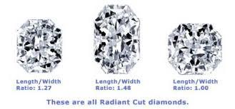 Radiant Cut Diamond Shape Buy Radiant Cut Diamond