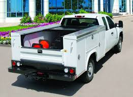 Retractable Utility Bed Covers | Medium Duty Work Truck Info