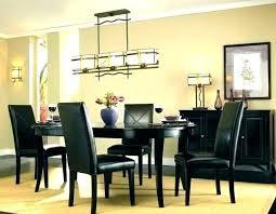 modern chandeliers dining room linear chandelier