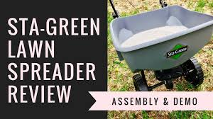 Sta Green Spreader Settings Conversion Chart Sta Green Broadcast Lawn Spreader Review