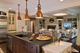 the copper pendant light kitchen rooms decor and ideas with copper pendant lights kitchen