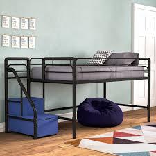 Bewley Junior Twin Loft Bed with Storage