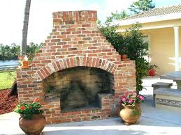 brick outdoor fireplace build your own outdoor fireplace kit brick how to tags building pergola better