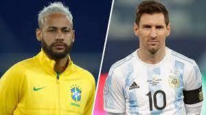 Brazil vs Argentina in Copa America ...