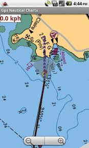 Gps Nautical Charts App For Android Marine Navigation Using Android Phone Tablet Nautical