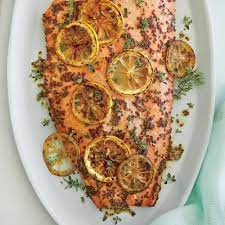 Christians believe that it is the holiest day in the year. Light And Bright Easter Menu Cooking Light Baked Salmon Recipes Honey Mustard Glaze Roasted Salmon