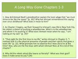 A Long Way Gone Quotes Unique A Long Waygoneunitpowerpointslides