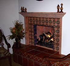 mexican fireplace outdoor pine style mantels