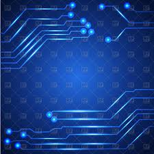 Hi Tech Circuit Board Background Vector Illustration Of Backgrounds