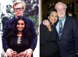 young michael caine wife. Wonderful Michael Michael Caine U0026 Wife Shakira For Young Wife S