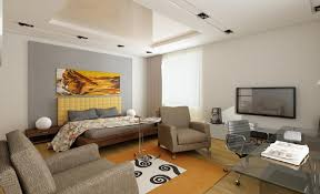 Small Apartment Bedroom With Living Room In One Space Dining Table