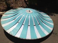 retro aluminum patio furniture. Cool - Retro 50s Aluminum Patio Umbrella Furniture P