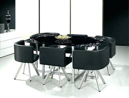 round table with 6 chairs dining table sets for 6 low glass dining table set
