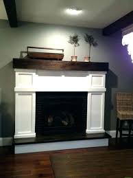 faux fireplace mantel mantle fake wood best ideas on and diy surround