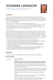 Brand Strategist Resume samples