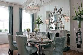 contemporary mirrored furniture. London Glam Mirrored Furniture With Contemporary Dining Room Tables And Fireplace Mirror Surround