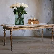 antique louis xvi coffee table