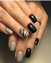 маникюр ногти Nechty Diseños De Uñas Oscuros Uñas Oscuras A