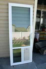 exterior door with pet door glass dog door exterior door with built in pet door in glass pet door cost patio