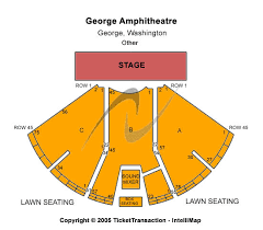 Gorge Amphitheater Seating Chart Tattoos For Girls The Gorge Amphitheatre