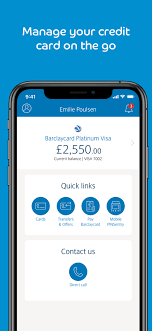 barclaycard overview apple app