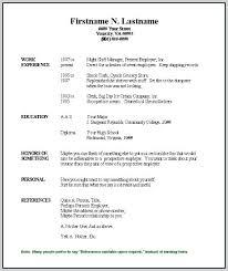 Free Printable Resumes Templates Interesting Blank Resume Template Free Printable Blank Resume Template Free Free