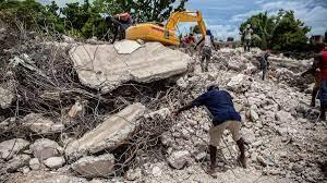 Survivors of Haiti earthquake pummelled ...