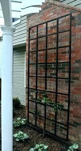 metal wall trellis mounted garden arbors and trellises 1 ireland bunnings system metal wall trellis