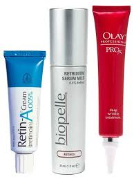 what skincare products have retinol