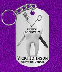 image is loading dental istant keychain gift personalized with name or