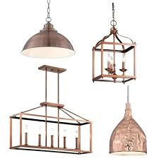 copper pendant lights kitchen awesome copper kitchen island lighting best ideas about copper pendant